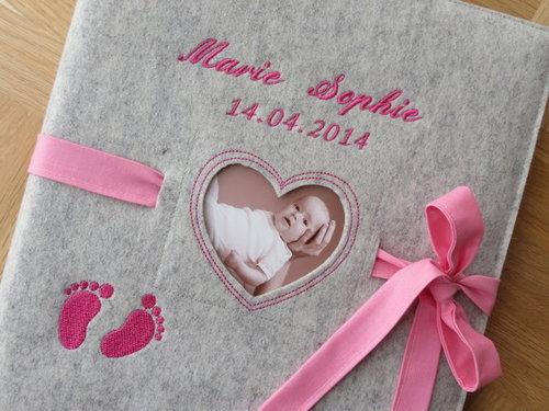 Babytagebuch XXL ♥♥ Babyalbum ♥ Name ♥